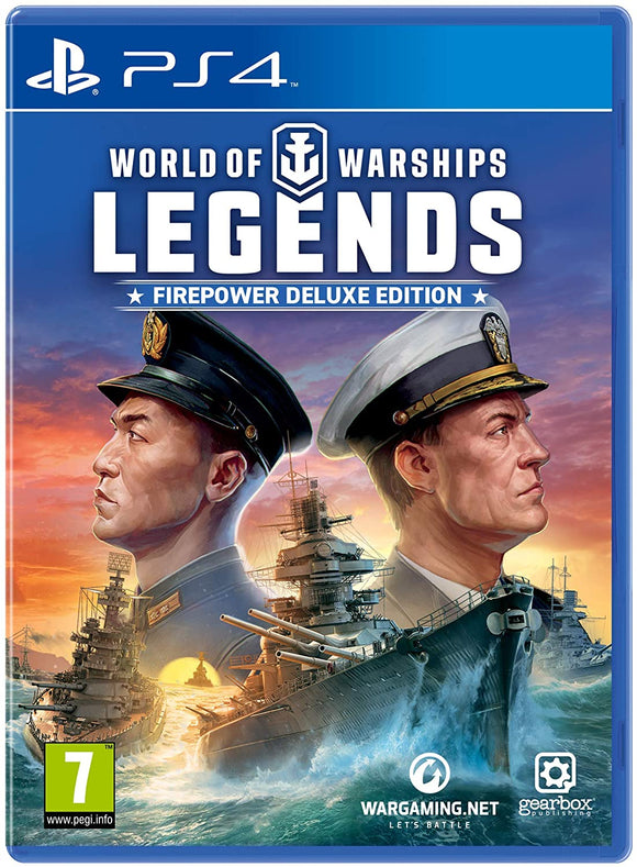 World Of Warships: Legend (PS4) x