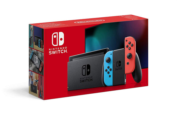 Nintendo Switch 1.1 - Neon Red/Neon Blue