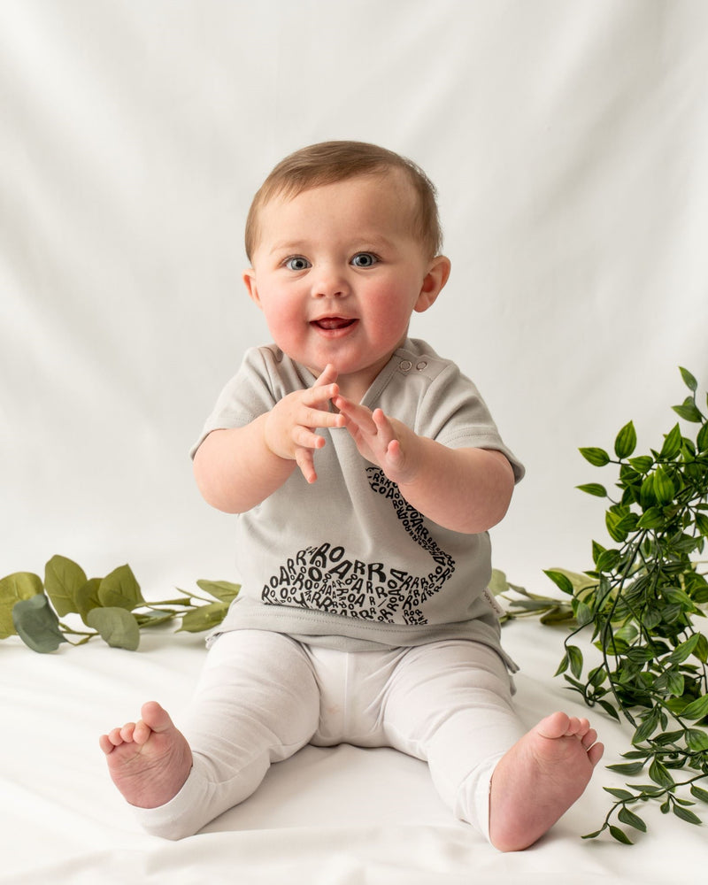 Organic cotton baby boy T-shirt. Made from 100% Certified organic cotton.