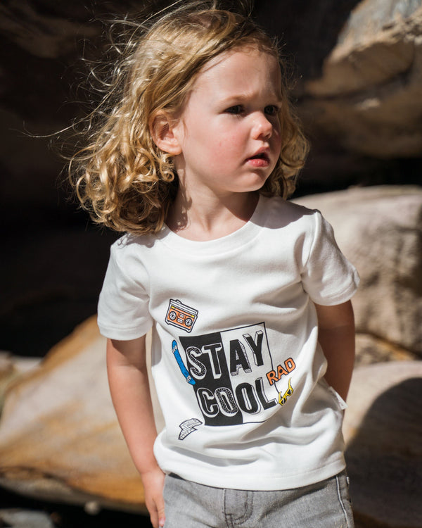 Organicline Toddler Boy Organic cotton T-Shirt. Made from 100% certified organic cotton.