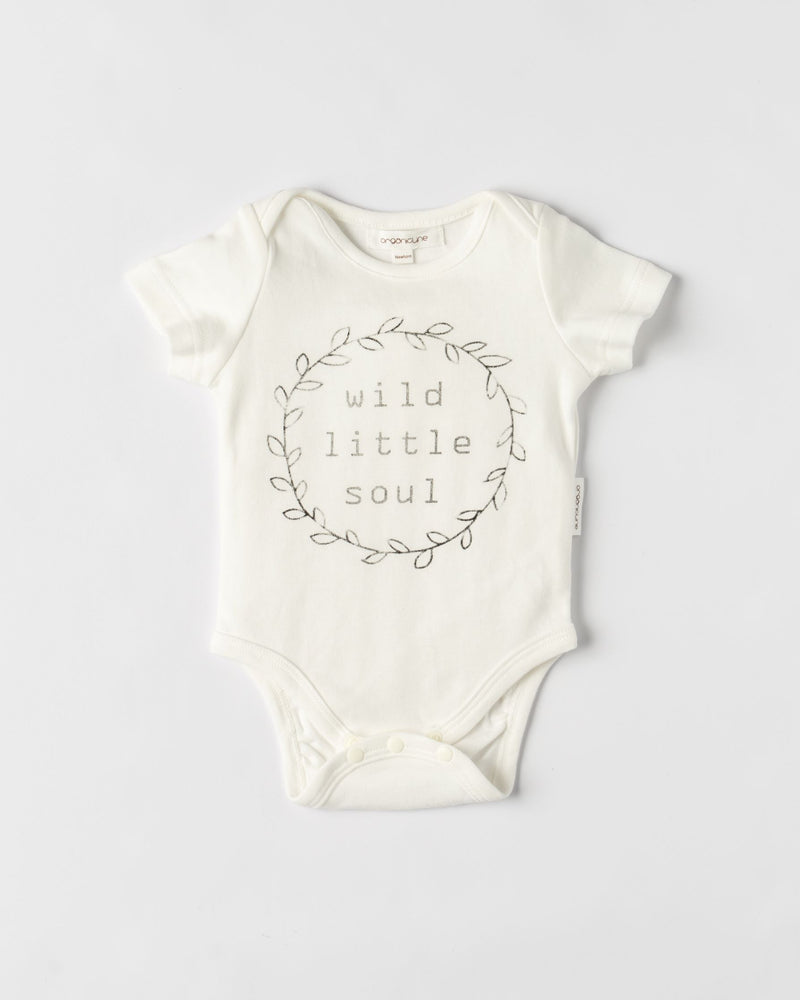 Bodysuits Value Two Pack -  Wild Little Soul with Long Sleeve Little Dolphin