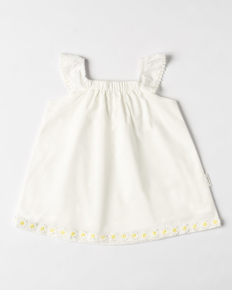 Organic Cotton Daisy Dress