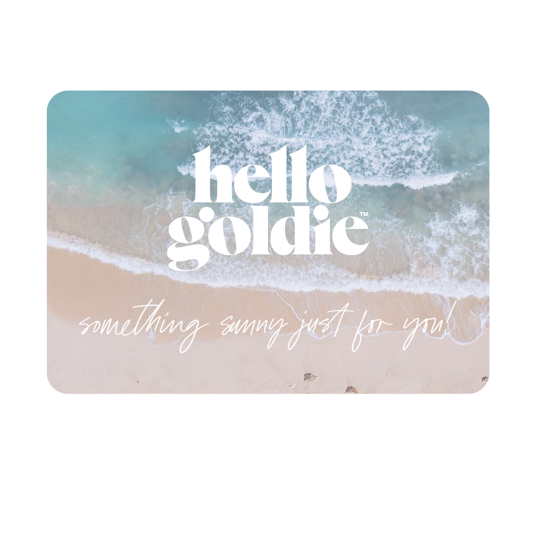 Hello Goldie Gift Card