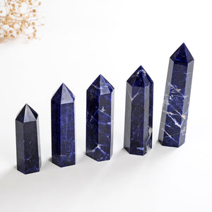Sodalite Crystal Points, PNT0005SD