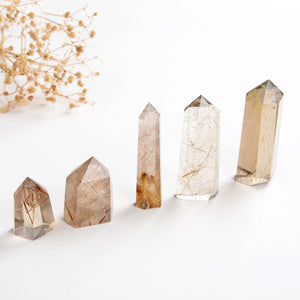 Rutilated Crystal Points, PNT0011RT