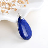 Gemstone Teardrop Pendants, PND4129XX