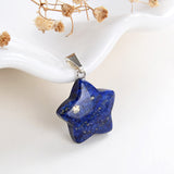 Gemstone Star Pendants, Small Size, PND4130XX