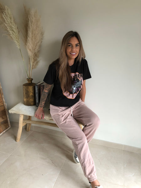 Jogging pants | roze