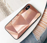 Colorful 3D diamond mirror phone case anti-fall couple mobile phone sets - soqexpress