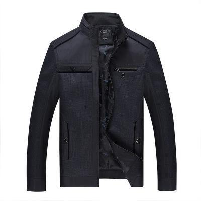 Men's Jacket Middle-aged Collar Autumn and Winter New Jacket Casual Jacket