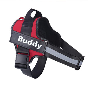Adjustable  Dog Harness Vest With Custom patch - soqexpress