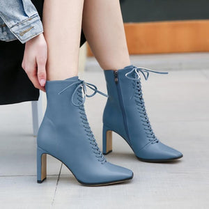 Fashion  High Heel  Women Ankle Boots