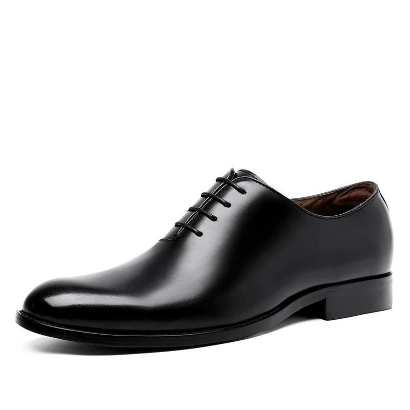 Oxford Handcrafted Men's Genuine Leather Lace up Dress Shoes
