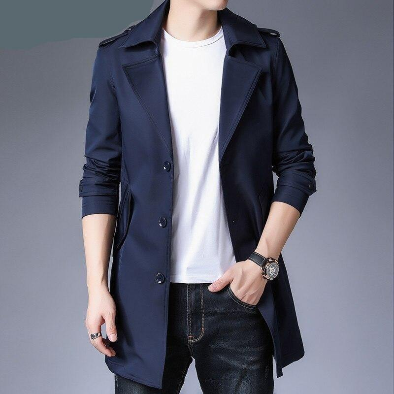 High Quality Business Casual Trench coat - soqexpress