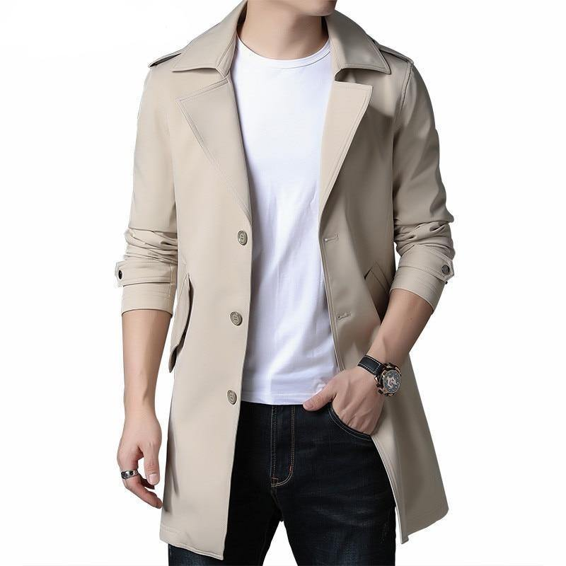 High Quality Business Casual Trench coat