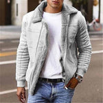 Patchwork Plain Lapel Winter England Jacket - soqexpress