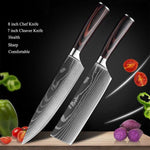 Elite Knives™️- Japanese Stainless Steel Chef Knife Set