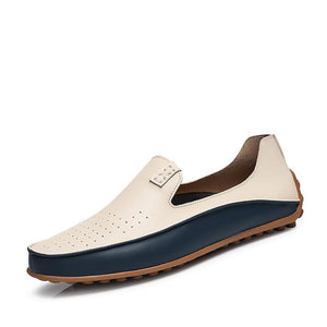 Leather Loafers Casual Shoes For Men