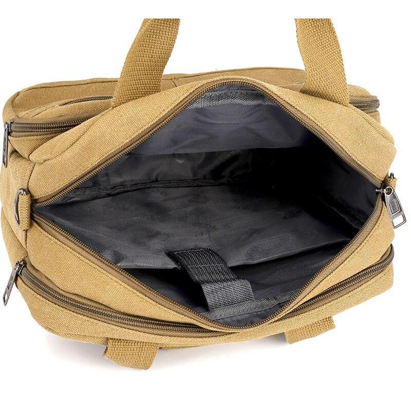 Large Capacity Multi-pocket Handbag Messenger Bag