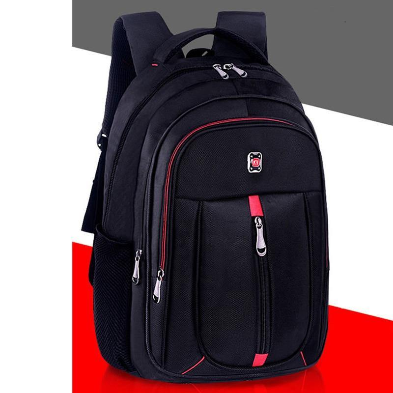 Men's Backpack Oxford Cloth Material British Casual