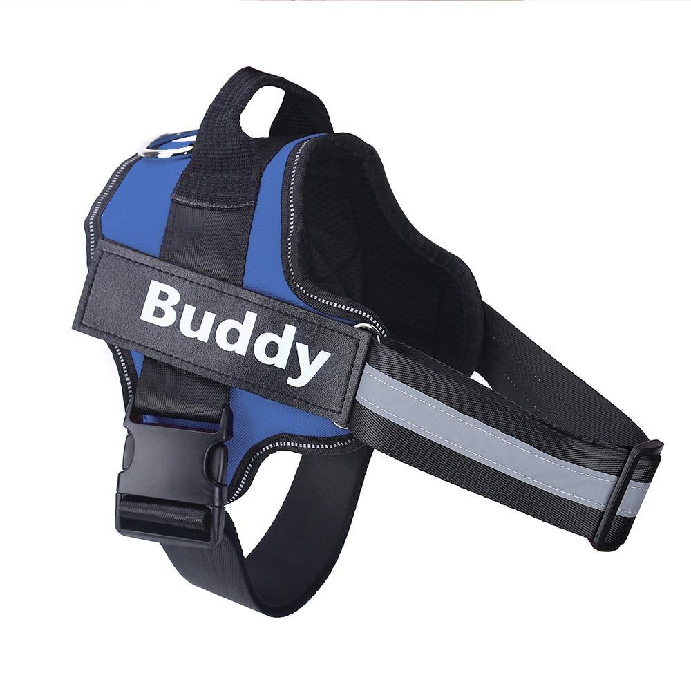 Adjustable  Dog Harness Vest With Custom patch