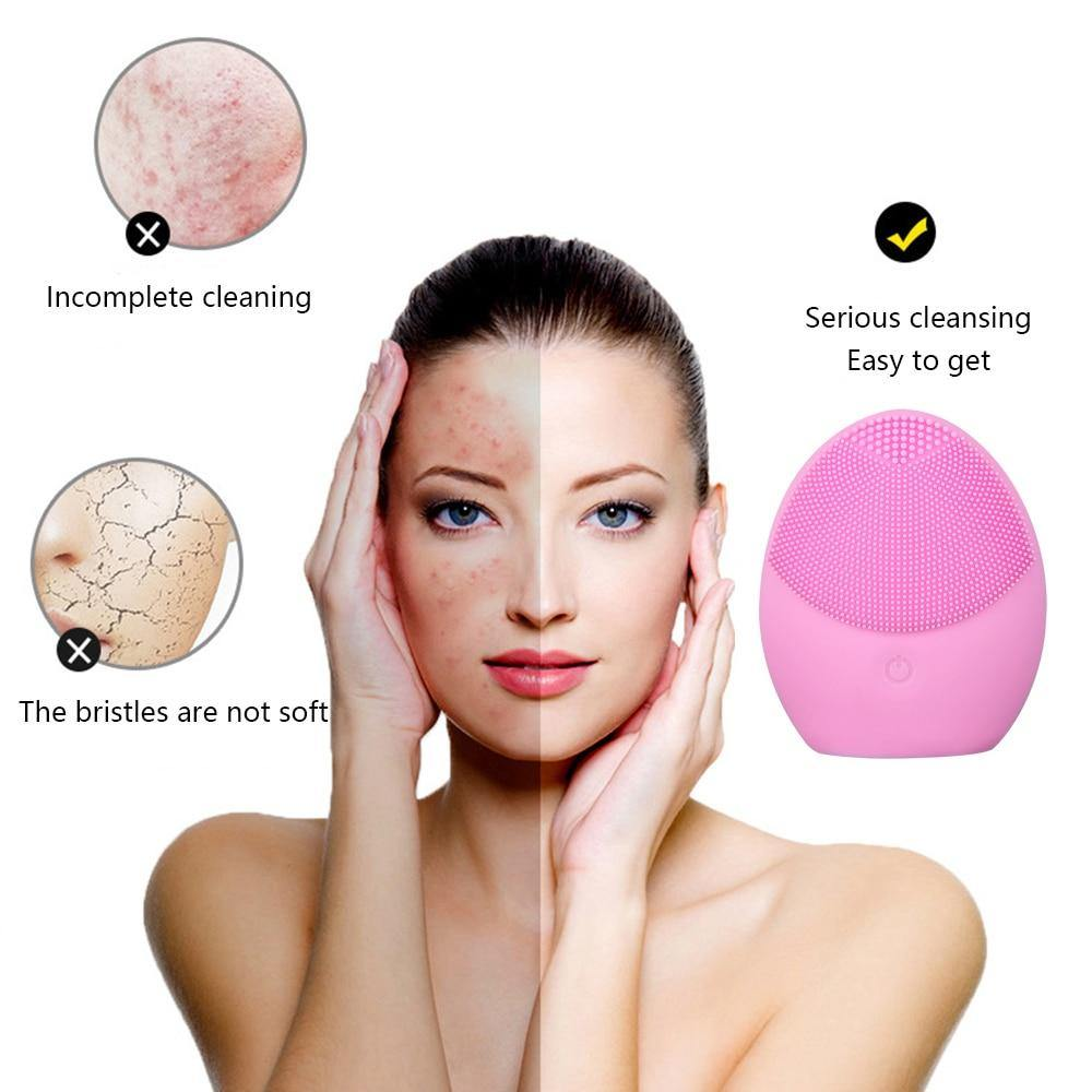 Washing Brush Skin Blackhead Remover Pore Cleaner Face Massage