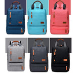 Girls and boys Anti-theft Waterproof Backpack Light can put a 15.6-inch laptop