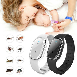 Ultrasonic Mosquito Repellent Wristband - soqexpress