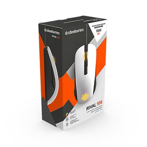 Brand New Steelseries Rival 100 Gaming Mouse Mice USB Wired Optical 4000DPI - soqexpress