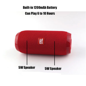 Portable Mini Wireless Speaker Player USB Radio Fm Mp3  Stereo