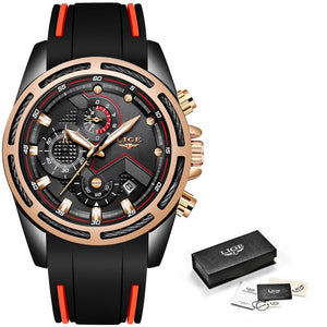 Top Luxury Brand Waterproof Men Unique Sport Watch