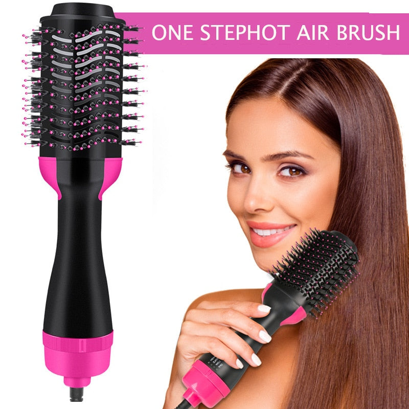Hair Brush One-Step Hair Dryer & Volumizer 3 In 1 Dryer