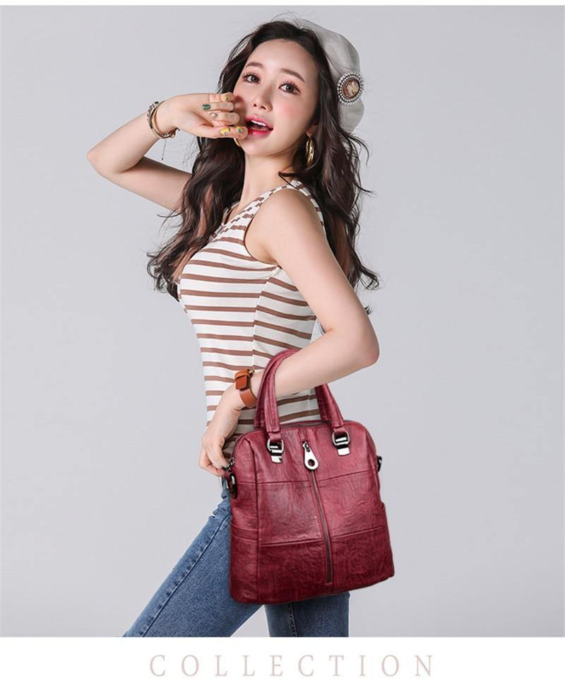 Vintage Female Shoulder Bag
