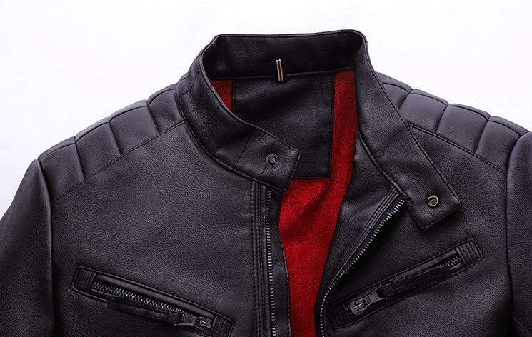 motorcycle coat leather jacket