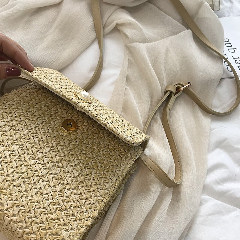 Weaving Crossbody Bag For Women