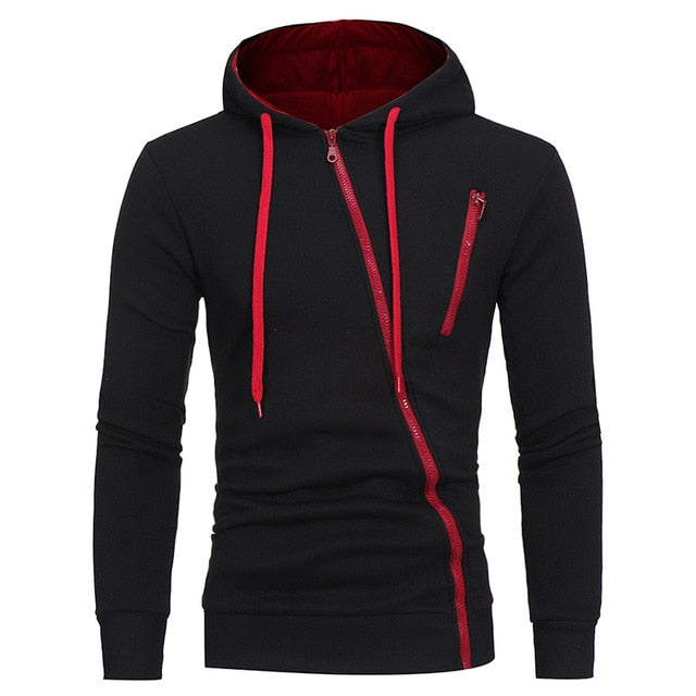 Men Jackets Autumn Winter Warm Fleece Jackets and Coats Male Double Zipper