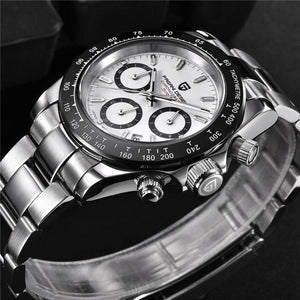 PAGANI DESIGN 2019 Waterproof Clock Male