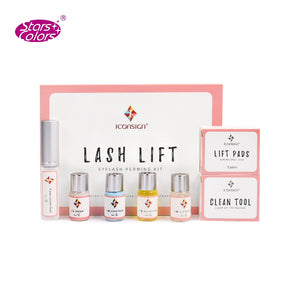 Professional lash lift kit eyelash lifting kit for eyelash perm with Rods Glue