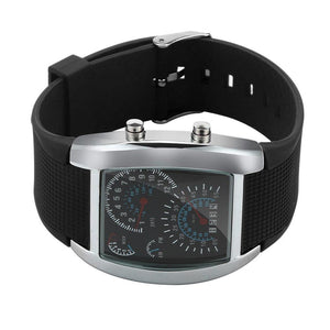 Turbo Speedometer Sports Car Dial Meter Watch Outdoor Wristwatch Classic Watch