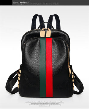 LUXURY LADIES LEATHER BACKPACK