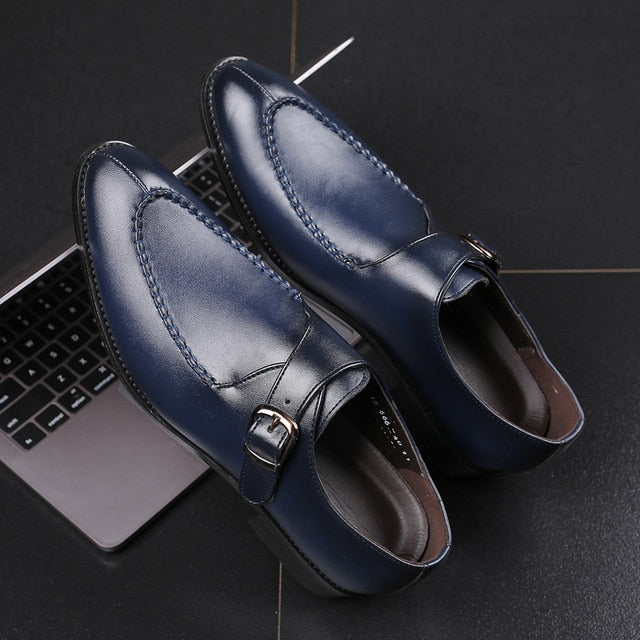 Italian Designer Dress Shoes Men Wedding & Party Shoes
