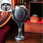 Mug Fire And Blood Stainless Steel & Resin 3D Coffee Beer