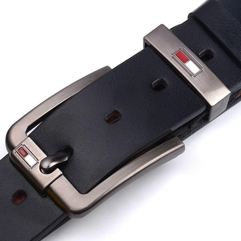 High Quality Luxury Leather Male Strap