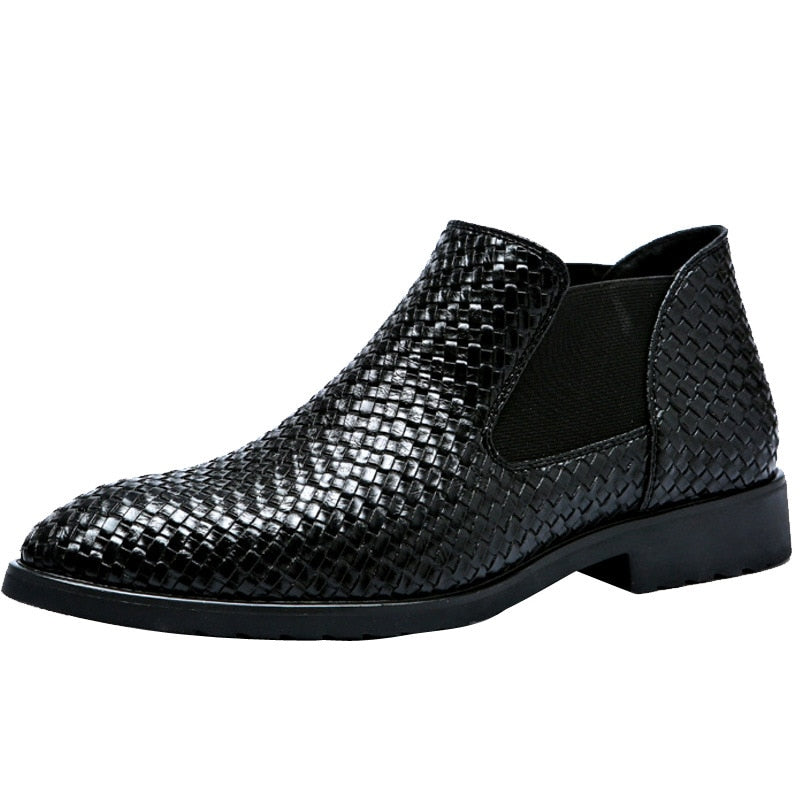 HIRSCH SHOES Handwoven Men Leisure and comfort Boots