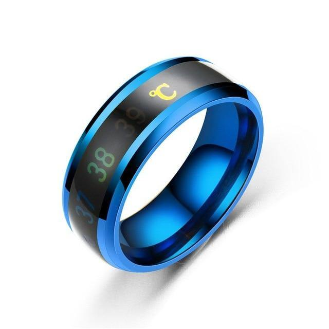 Temperature Titanium Steel Ring - soqexpress