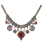 Women's Colorful Rhinestone Necklace