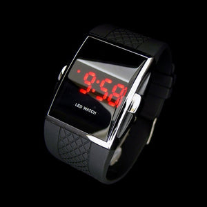 Durable casual cool Black sport watches for man