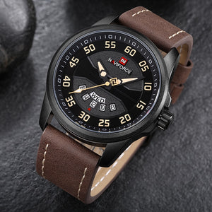 Men's Fashion Casual Quartz Watche