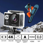 4K WiFi Sports Action Camera Ultra HD Waterproof DV Camcorder