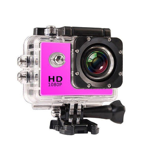 1080P HD Outdoor Mini Sport Action Camera Waterproof IP Camera Cam DV gopro style - soqexpress